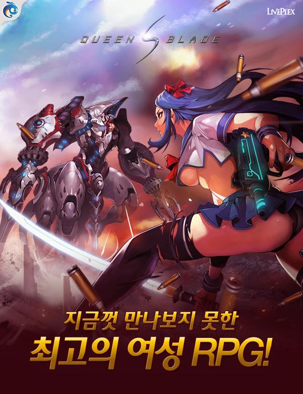 Queen's Blade ra mắt phiên bản di động tại Hàn Quốc 2
