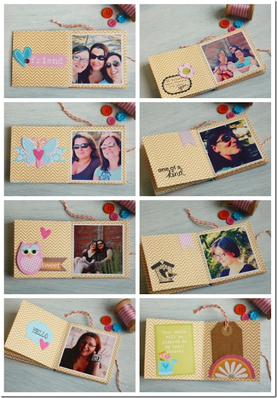 mini album one sheet - tutorial - scrapbooking - scrap - by cafecreativo (5)