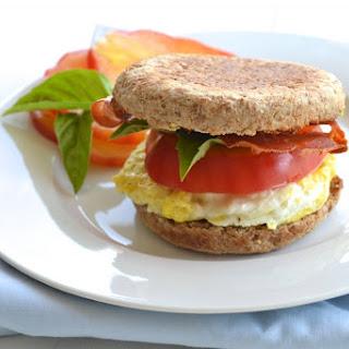 BREAKFAST EGG SANDWICH with CRISPY PROSCIUTTO Recipe