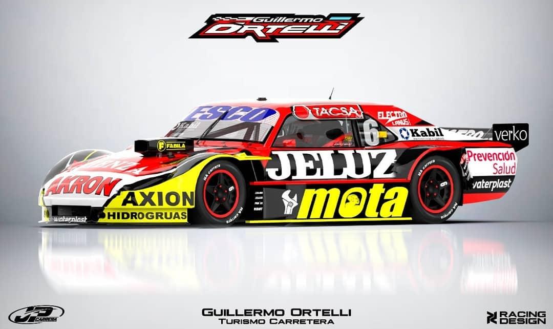 Guillermo Ortelli Chevrolet JP Carrera