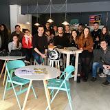 2017-02-01 2MIP visita el The Beach Factory Coworking Castelldefels