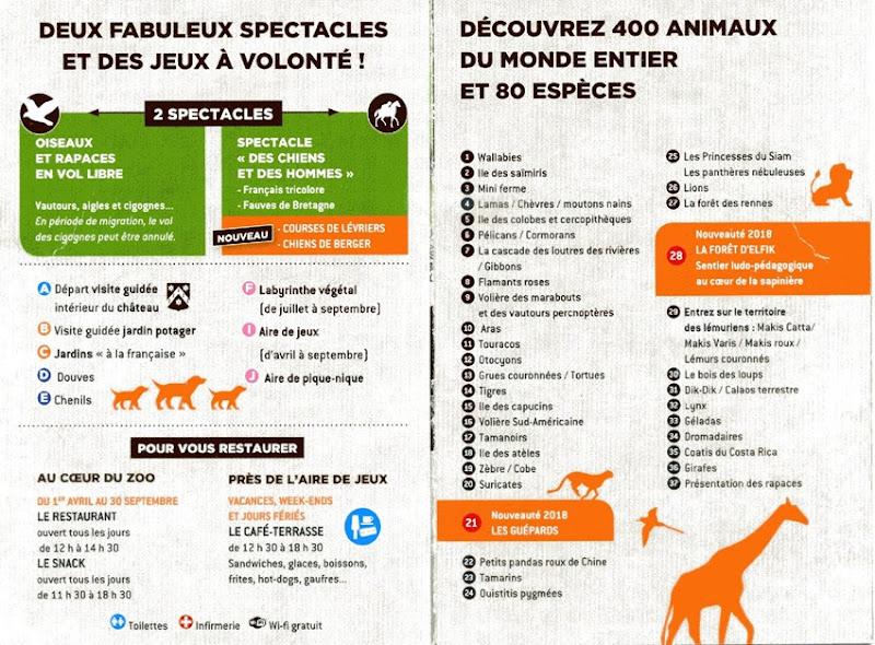 La Bourbansais plan 2 2018