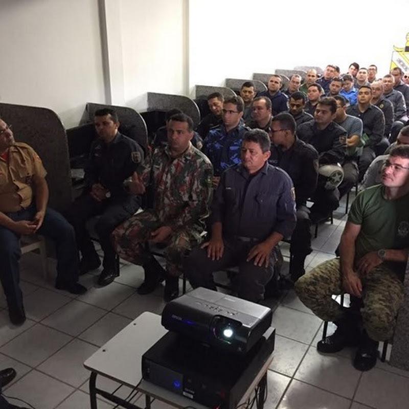 Policiais passam por capacitação para o Ronda Cidadã em Mossoró