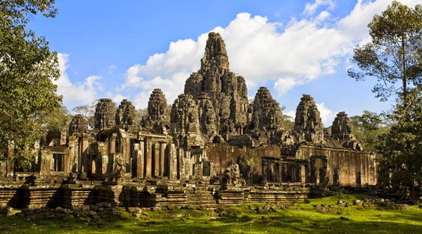 Templo de Bayon - Siem Reap, Camboya