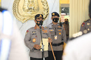 Komjen Pol Agus Andrianto Pimpin Upacara Virtual Kenaikan Pangkat 390 Personel Jajaran Baharkam Polri