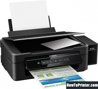 Resetting Epson L132 printer Waste Ink Counter