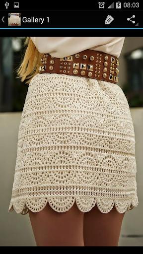 Crochet Pattern Skirts