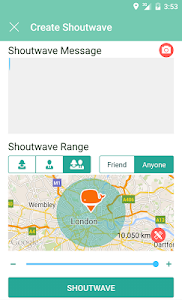 Shoutwave screenshot 1