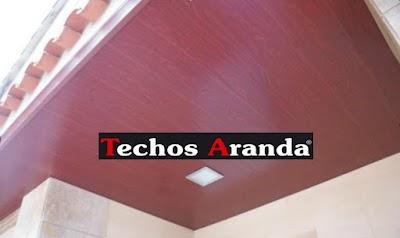 Precio anticrisis montadores techos de aluminio Madrid