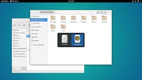 Primeros pasos con GNOME Shell. Hacia la productividad. Cambiando entre aplicaciones.
