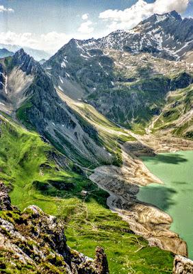 lünersee vom roßberg Rätikon lünersee Vorarlberg