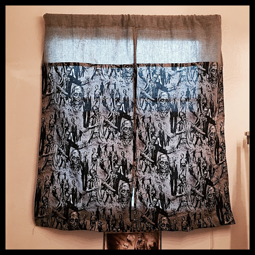 Zombie curtains
