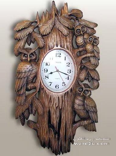الغابه نحت على الخشب للفنان petr Nosikov bogorodsk