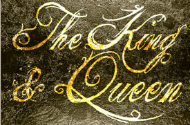 the king and queen fonts
