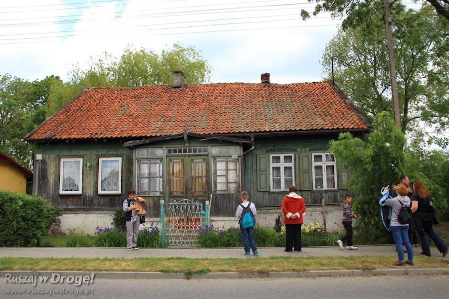 Stara Kościelnica - drewniane domy