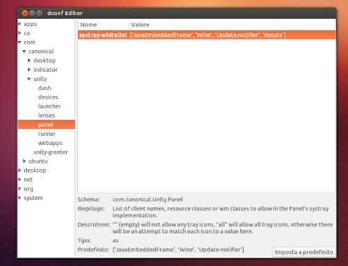 Ubuntu 13.04 Dconf Editor