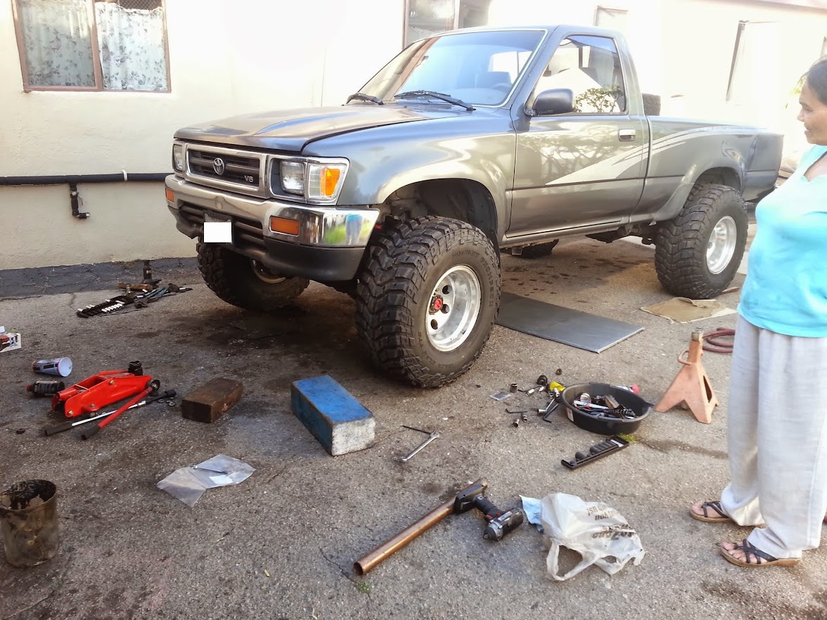 Topguncustoms 85-98 Toyota IFS Lift for Pickup 4Runner