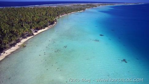 Ancoraggio ad Est di Raroia - Tuamotu