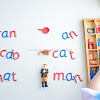 Building Words with the Moveable Alphabet and Objects