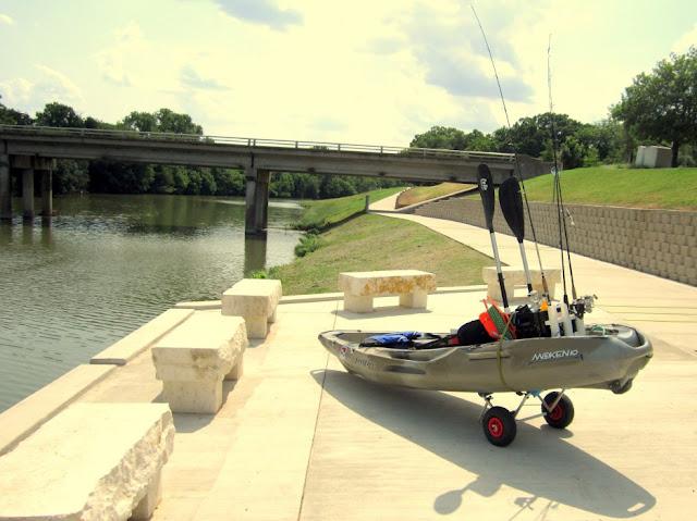 Trinity river fort worth kayak fishing texas fishing forum for Trinity river fishing spots