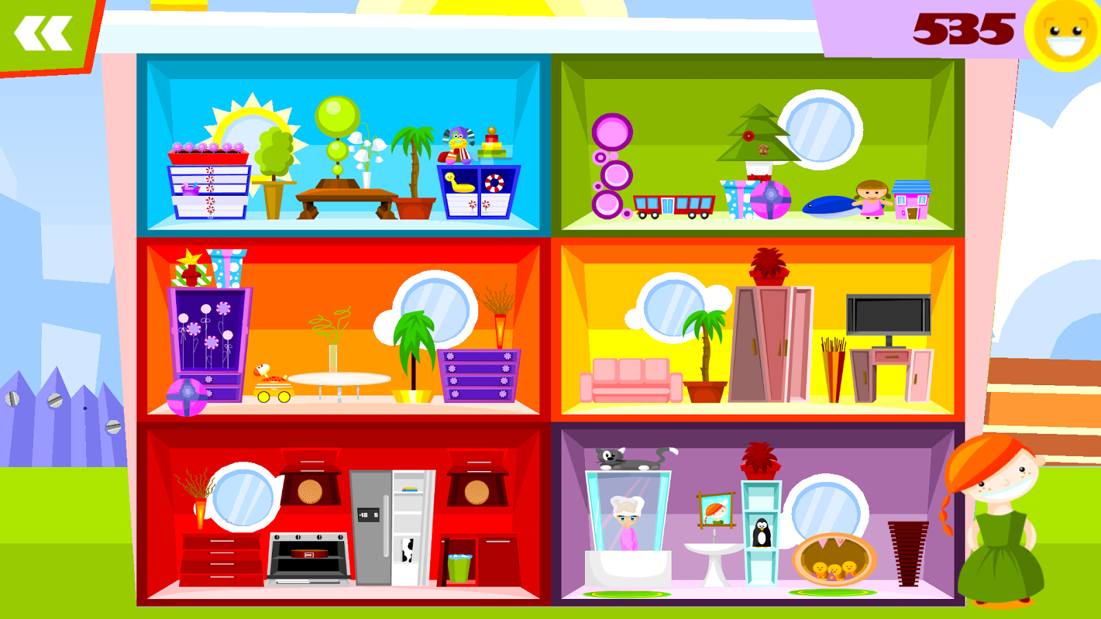my doll house decorating games screenshot - House Decorating Games