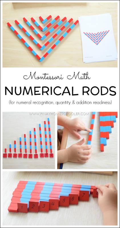 MontessoriNumberRods
