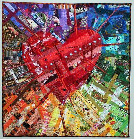 Strings - Amazing Technicolor Dream Quilt