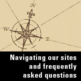 Navigating the BAX site