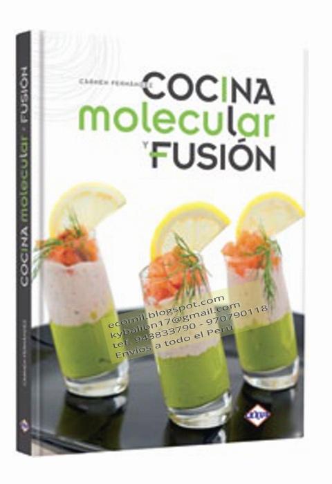 Cocina reposteria for Libros de cocina molecular