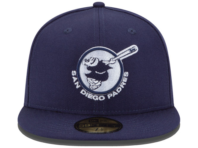 The best San Diego Padres caps all include the popular Swinging Friar logo e4337b619f5b