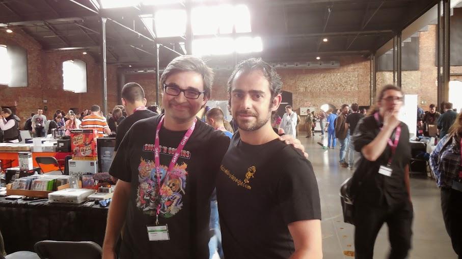 Con Manuel Sagra