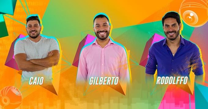 Enquete Uol BBB 21: Caio, Gilberto e Rodolffo estão no paredão, saiba quem será eliminado!