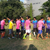 Friendly match with Cambodian Students