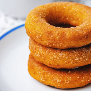 Low-Carb Pumpkin Donuts.