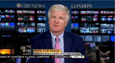 CBS newsman says Pope Francis takes sides against Obama