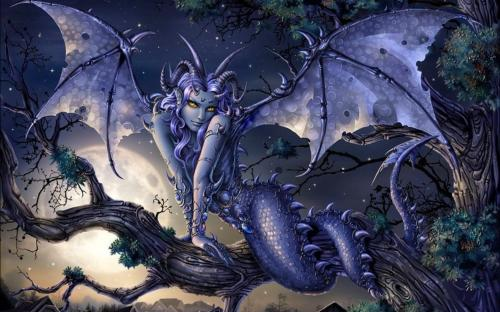 Dragon Demoness, Demonesses