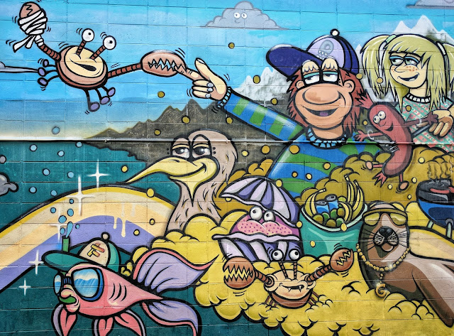 Island Bay (Wellington, NZ) mural
