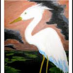 Arty Party Egret.JPG