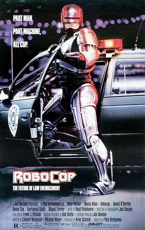 Poster Of RoboCop (1987) Full Movie Hindi Dubbed Free Download Watch Online At Alldownloads4u.Com