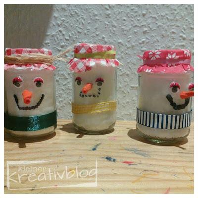 kleiner-kreativblog: Schneemänner