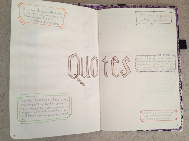 Quotes Journal Impressive Mrstaylor's Tales Bullet Journalquotes