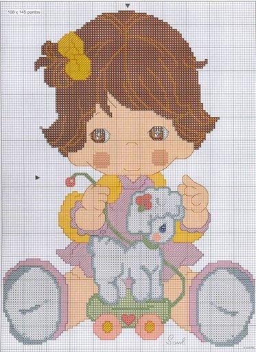 punto de cruz infantil 14