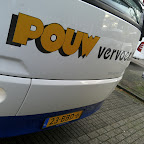 De VDL futura classic van Pouw vervoer bus 34 ( let op het kenteken )