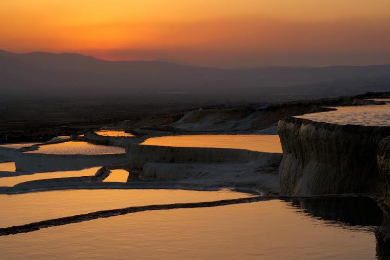 Pamukkale hot springs, Turkey