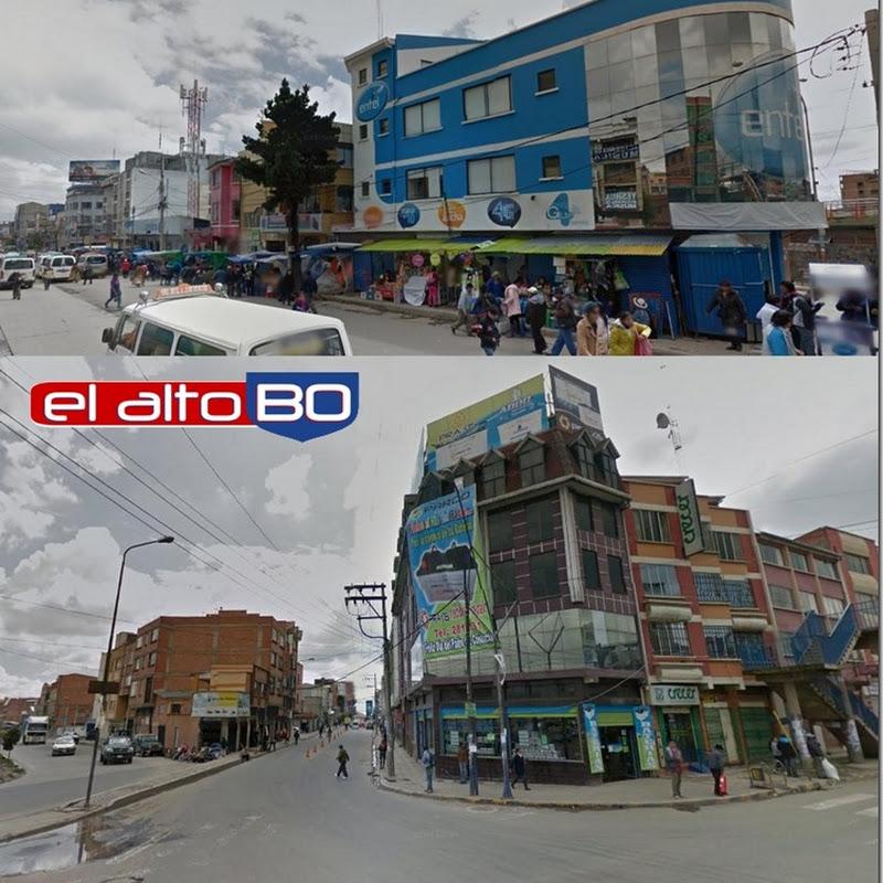 Villa Bolívar A: zona del Distrito 1 de El Alto