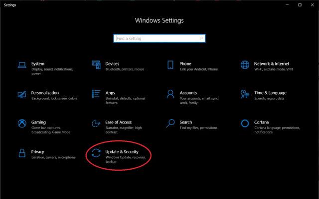 ضبط المصنع لنظام التشغيل ويندوز 10
