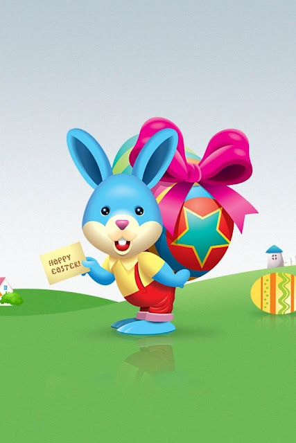 Happy Easter download free wallpapers for Apple iPhone4 holidays