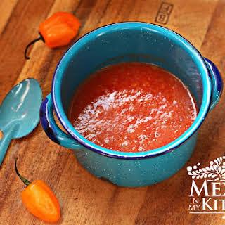 Habanero Tomato Salsa.