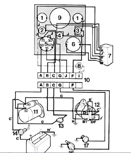 Wiring Diagram With Quot Idiot Light, Wiring, Free Engine