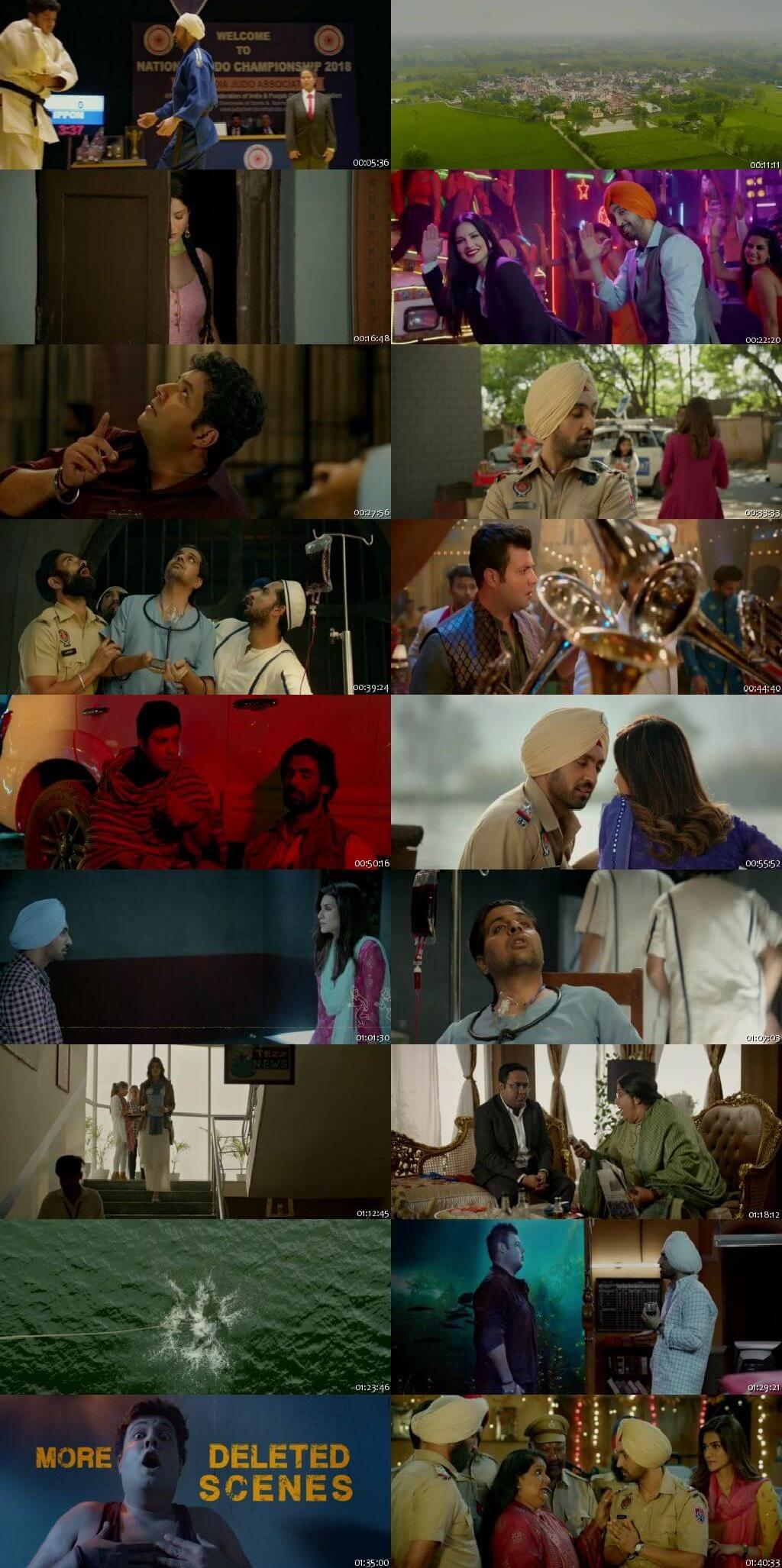Screen Shot Of Arjun Patiala  2019 Full Movie Free Download HD 720P Watch Online